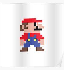 0000003 - 8 Bit Mario Poster