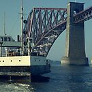 Forth Bridge and the Queen's ferry by tayforth