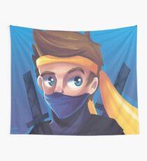Ninja Wall Tapestry