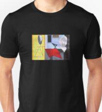 Pablo Picasso -  The Studio 1927 Painting - Surrealism Cubism Geometric Modern Abstract Sideways Eye Art  Unisex T-Shirt