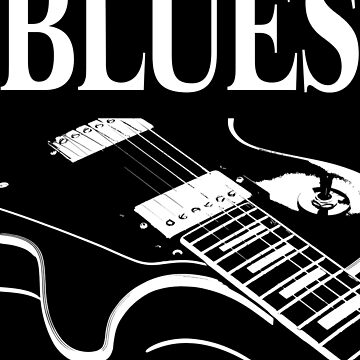 Blues Guitar by RazorDezign