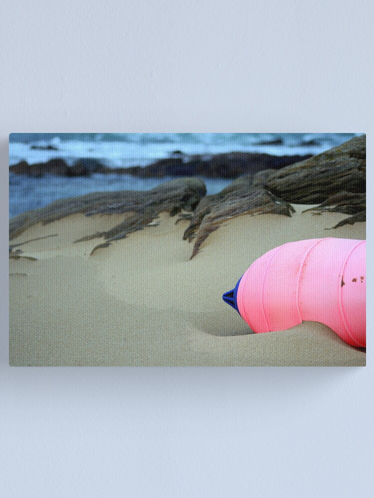 Alternate view of Pink Canvas Print