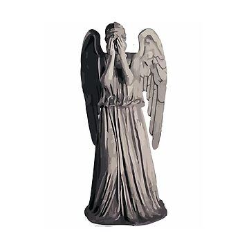 weeping angel by dclete