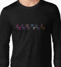My Little Pony Minimal Mane 6 Long Sleeve T-Shirt