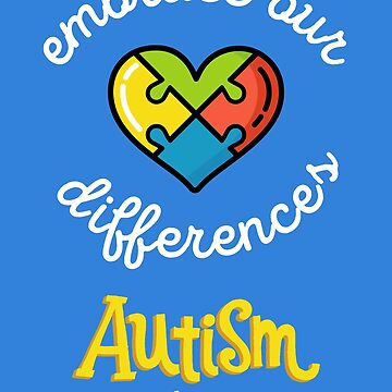 Autism Shirt — Autism Awareness Shirts for Women / Men / Kids —Autism Awareness Day T-Shirt for Mom / Dad / Sister / Brother by Custom-T-Shirts