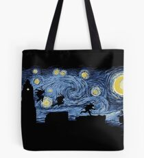 Starry Fight Tote Bag