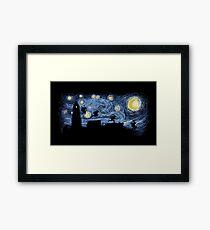 Starry Fight Framed Print