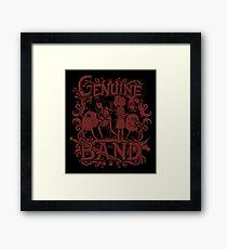 Genuine Band Framed Print