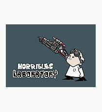 Horrible's Laboratory Photographic Print