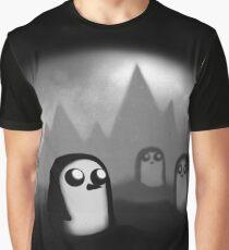 Evil Penguin Graphic T-Shirt