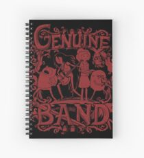 Genuine Band Spiral Notebook