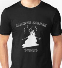 Climate Change Stinks  Unisex T-Shirt