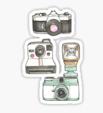 Cameras Sticker