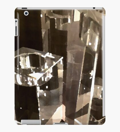glass two iPad Case/Skin