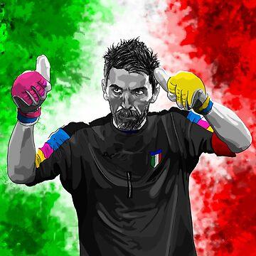 Gianluigi Buffon - Italy by barrymasterson
