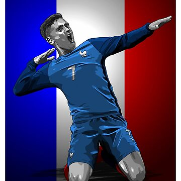 Antoine Griezmann - France by barrymasterson