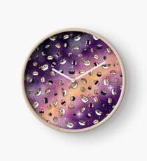 Sushi Galaxy Dreams Clock