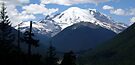 Mt. Rainier Across the Valley by Tori Snow