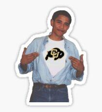 Boulder Obama Sticker