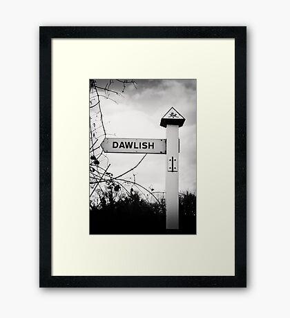 I'm Home Framed Print