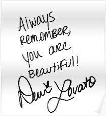 Demi Lovato Poster