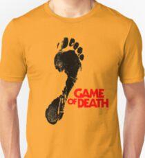 Camiseta unisex La huella del juego de la muerte