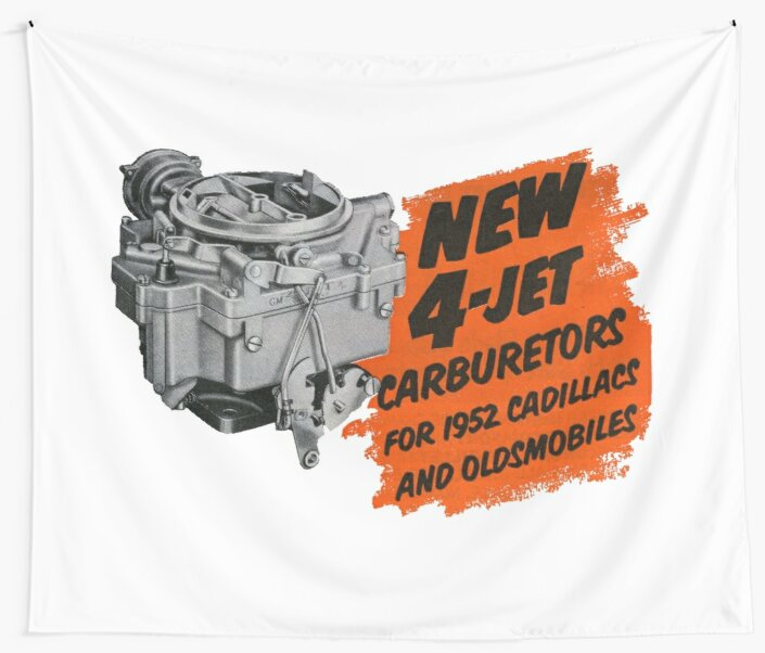 4 Barrel Carburetors. Old  School Hot Rod Favourite!  by taspaul