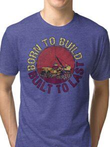 Born to Build (pink) Tri-blend T-Shirt
