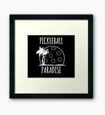 Pickleball Paradise Framed Print