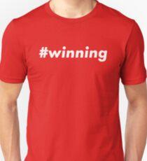 #winning Unisex T-Shirt