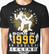 The 'Football' Legend Is Alive - Born In 1996 Graphic T-Shirt