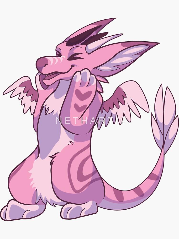 Dutch Angel Dragon Sticker by Bolteybolt