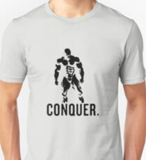 mrolympia bodybuilding vector conquer  Unisex T-Shirt