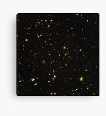 Hubble Deep Field - Maximale Auflösung Leinwanddruck