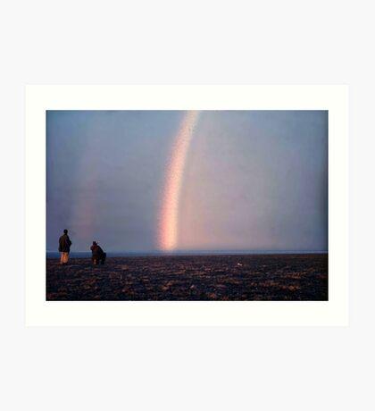 Arctic Rainbow Art Print