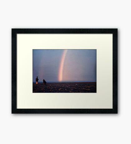 Arctic Rainbow Framed Print