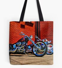 """Harleys at Heaven's Door"" Tote Bag"