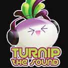 Cute Electronic Dance Music Turnip Pun by kimchikawaii