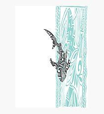 c56216b12 Polynesian Tattoo Design & Illustration Wall Art   Redbubble