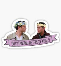Outstanding Heterosexuals Sticker