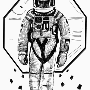 space man 2001 by chknman