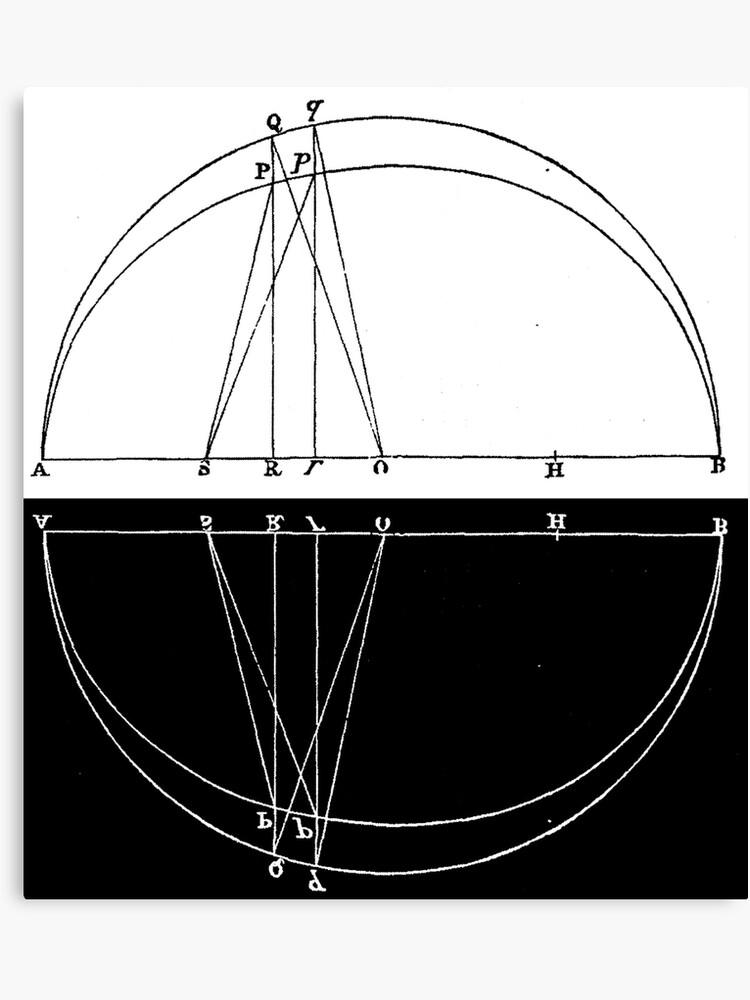 Philosophiæ Naturalis Principia Mathematica (4)   Canvas Print