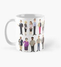 The Employees Of Dunder Mifflin Scranton Branch The Office Mug