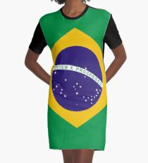 Brazil Graphic T-Shirt Dress