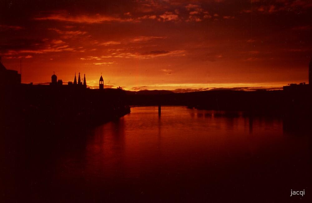 Sunset Inverness Scotland by jacqi