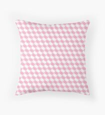 Cojín de suelo Space Invader Dogtooth Pattern Pink