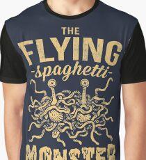 The Flying Spaghetti Monster (dark) Graphic T-Shirt