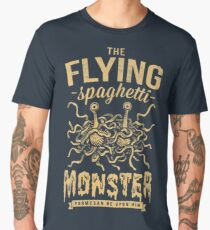 The Flying Spaghetti Monster (dark) Men's Premium T-Shirt