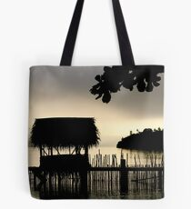 Tropical Morning Mist Tote Bag