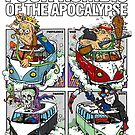 FOUR KOMBIS OF THE APOCALYPSE by Rick Chesshire
